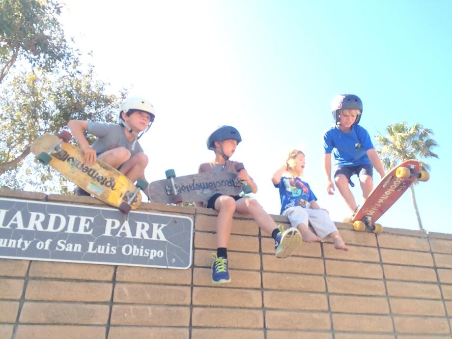 Left to right: Otis, Sy, Grayson, & Jayce