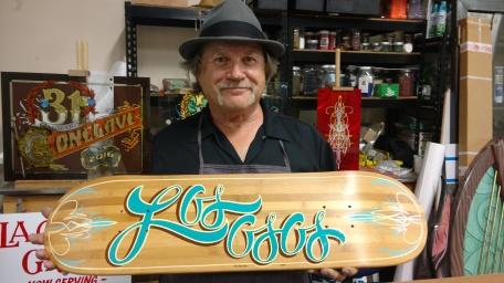 "artist Tim ""Fastripe"" Broberg"